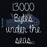 13K bytes under the seas