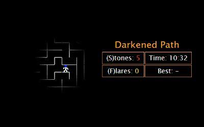 Darkened Path   js13kGames