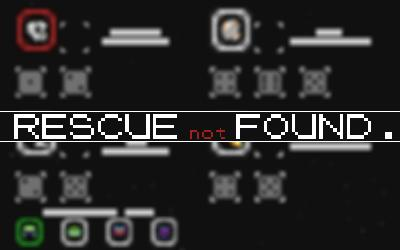 Rescue Not Found dice roll space game