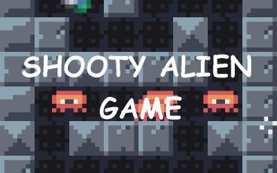Javascript js13k shooty alien game