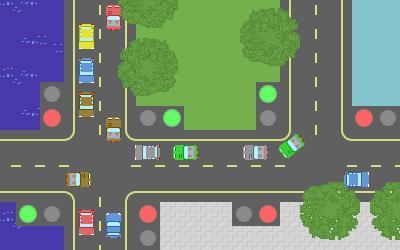 traffic js13kgames