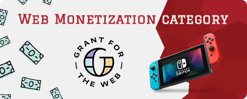 Web Monetization category