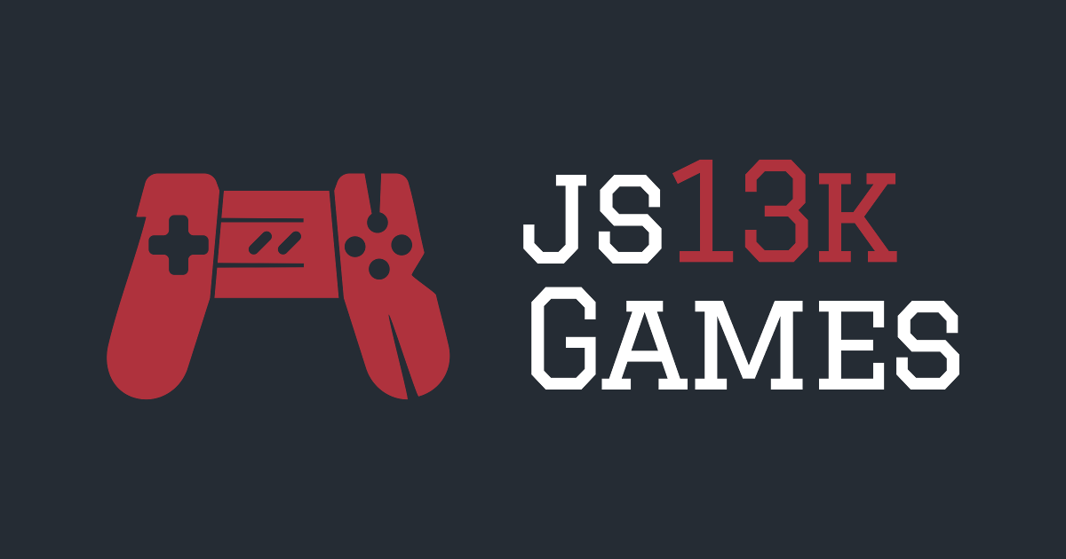 js13kGames - HTML5 and JavaScript Game Development Competition in